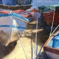 Boats, Portugal. Peter Rossington