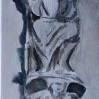 Eroding Angel, Crowland Abbey. Rebecca Wheatley