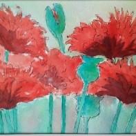 Rebecca Wheatley Oriental Poppies
