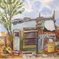Side of the Barn. Stewart Ganley
