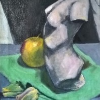 Still life with apple Denis Purshouse