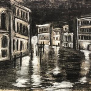 Venice Charcoal. Andrew Cooper